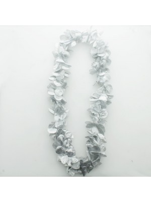 Silver Coloured Flower Petal Garland
