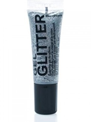 Stargazer Sparkling Face/Body & Eye Glitter Gel - Silver