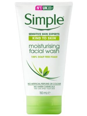 Wholesale Simple Moisturising Facial Wash - 150ml