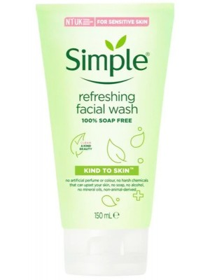 Wholesale Simple Refreshing Facial Wash - 150ml