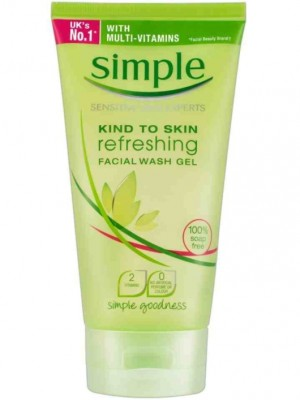 Wholesale Simple Kind To Skin Refreshing Facial Wash