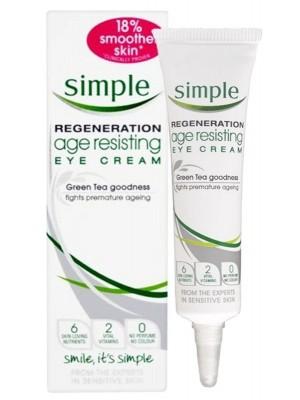 Simple Regeneration Age - Resisting Eye Cream - 15ml
