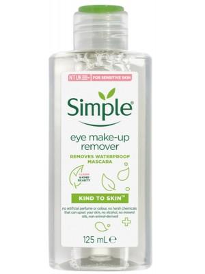 Simple Vegan Eye Make-Up Remover - 125ml