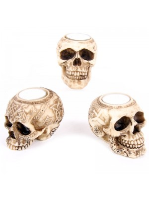 Wholesale Skull Tea Light Holder