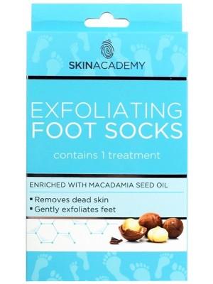 Skin Academy Exfoliating Foot Mask-Macadamia Seed Oil