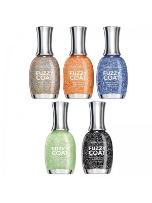 Sally Hansen Fuzzy Coat Nailpolishes-Assorted Colors