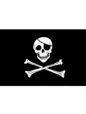 Skull & Crossbones Jolly Roger Flag 5ft x 3ft