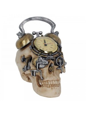 Wholesale The Final Countdown - Skull Clock Figurine - 20cm