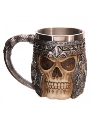 Skull Warrior Tankard - Decorative Only