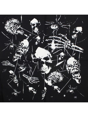 Wholesale Skulls & Zombies Black Bandana