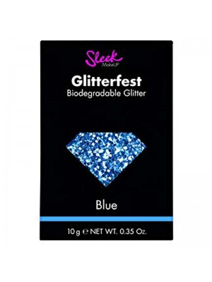 Wholesale Sleek Glitterfest Biodegradable Glitter - Blue