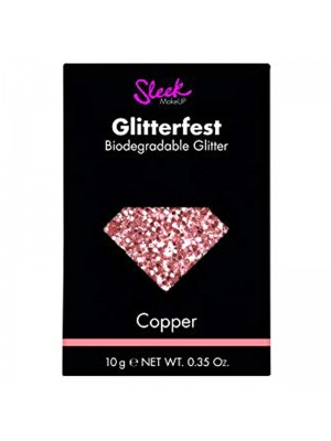 Wholesale Sleek Glitterfest Biodegradable Glitter - Copper