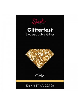 Wholesale Sleek Glitterfest Biodegradable Glitter - Gold