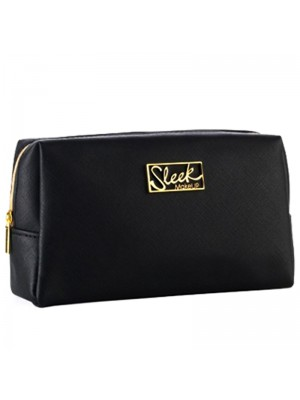Wholesale Sleek Makeup Cosmetic Bag - Black