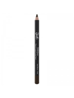 Sleek Powder Brow Shape & Sculpt Powder Pencil- Dark Brown