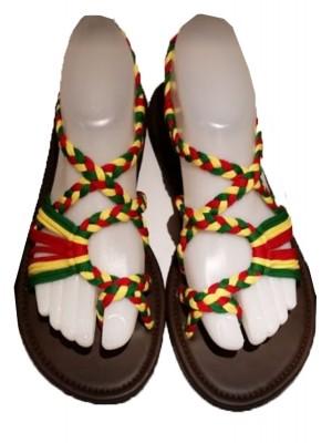 Wholesale Rasta Design Slippers