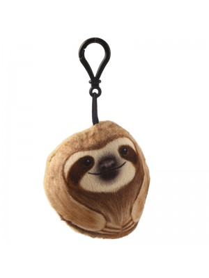 Sloth Just Hanging Round Sound Keyring