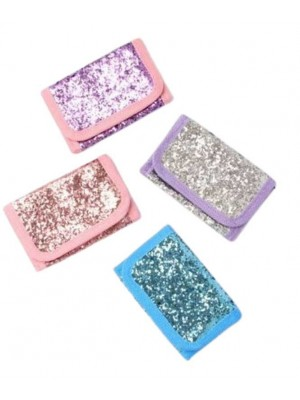 Wholesale Small Size Glitter Wallet-11x7cm