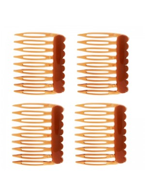 Small Brown Slide Comb
