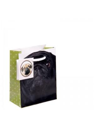 Pug Gift Bags Small (11x 14x 6cm)