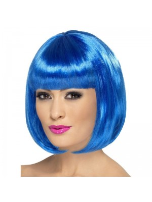 Smiffys Partyrama Party Wig - Blue