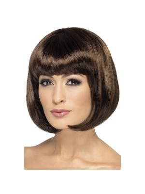 Partyrama Party Wig - Brown