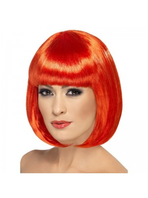 Partyrama Party Bob Wig - Red