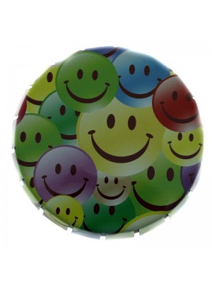Wholesale Smiley Faced Styled Tobacco Tin