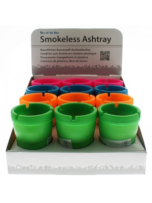 Smokeless-Plastic-Ashtray-Assorted-Colours-80053