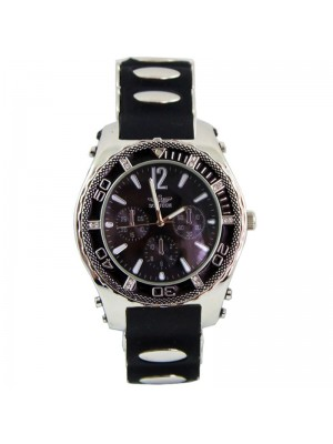 Wholesale Softech Mens 3 Dial Rubber Strap Watch