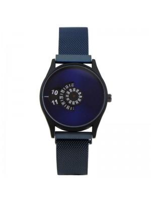 Wholesale Softech Mens Rotating Dial Mesh Bracelet Strap Watch