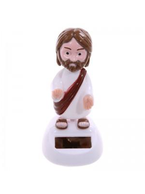 Solar Pal Jesus Figurine