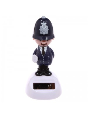 Solar Pal Policeman Figurine