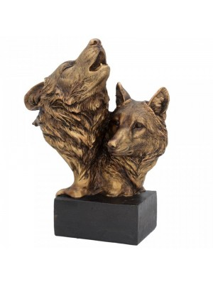 Wholesale Song of the Wild Wolf Figurine - 23cm