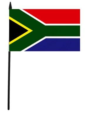 "South Africa Hand Flag - 12"" x 18"""