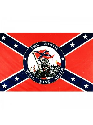 South Will Rise Again Flag - 5ft x 3ft