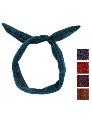 Sparkly Bendy Headwrap - Assorted Colours