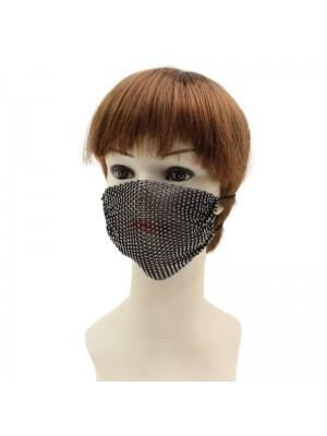 Fashion Diamante Face Covering