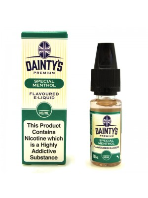 Wholesale Dainty's Premium Flavoured E-Liquid - Special Menthol - (10ml)