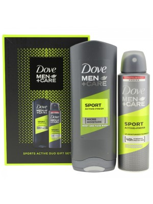 Wholesale Dove Men Care Sports Active Duo Gift Set