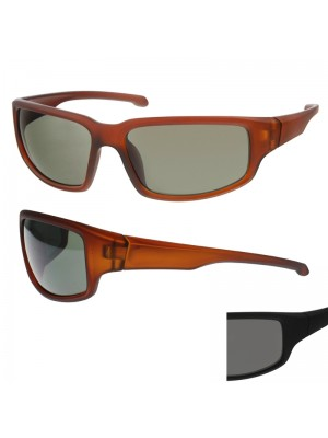 Sports Sunglasses (Black Lens) - Black
