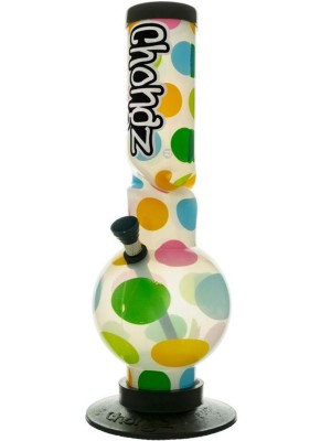 """Wholesale Chongz Acrylic """"Miserable Lie"""" Spotted W-Pipe"""