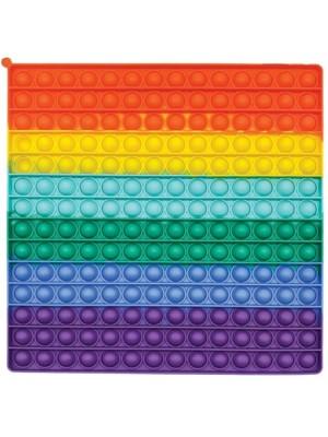Wholesale Push & Pop Bubble Rainbow X-Large Fidget Toy