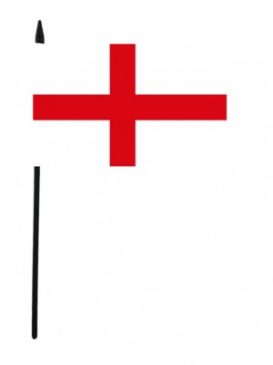 "St. George's England Cross Table Flag Small - 6"" x 4"""