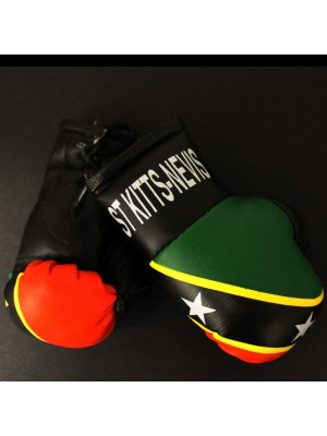 Mini Boxing Gloves - St Kitts- Nevis