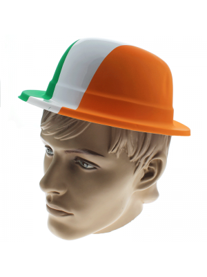 St. Patrick's Day Plastic Bowler Hat