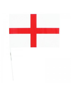 St. Georges England Hand Flag - 30cm by 20cm