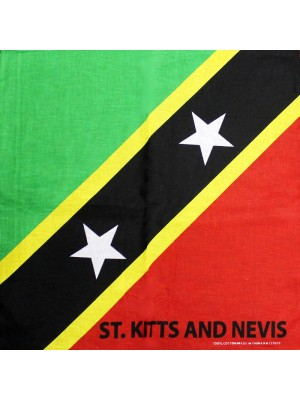 St. Kitts and Nevis Flag Bandana