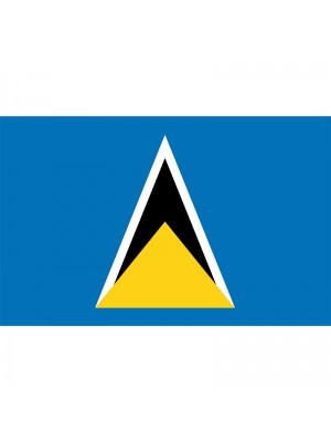 St. Lucia Flag - 5ft x 3ft