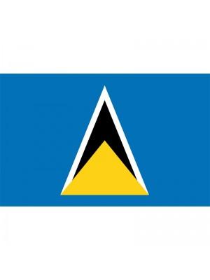 St. Lucia Flag - 5ft x 3ft